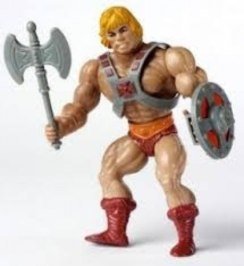 He- Man and The Masters of The Universe was one of the most popular toy sets of the 1980's.