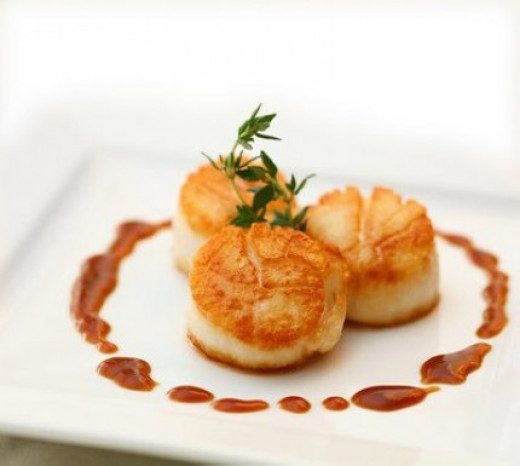 Simple seared sea scallops you can make at home. See how here and four fabulous recipes