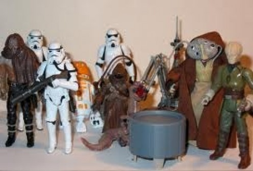 Star Wars action figures are very unique and their collections are loaded with accessories.