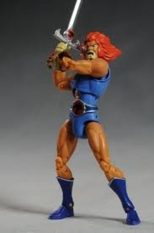 The Thundercats Action figure collection competed with transformers and G.I. Joe for the top toy of the mid 80's.