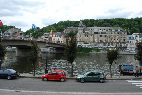 Dinant: Charles de Gaulle Bridge over the Meuse