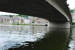 Dinant: Charles de Gaulle Bridge over the Meuse