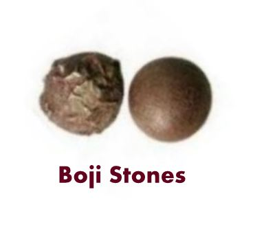 Boji Stones are gemstones primarily used to balance and align ones energy field. They are normally sold in a set of Male and Female Boji Stones.