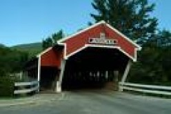 Jackson's Covered Bridge in Vermont-Built in 1876