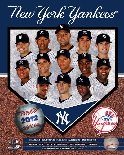 2012 New York Yankees