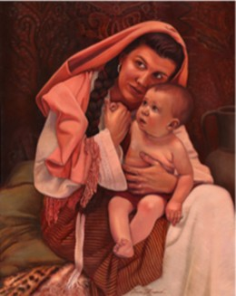 """""""Sarah and Samuel"""" by Daniel Freed. © 2004. All rights reserved."""