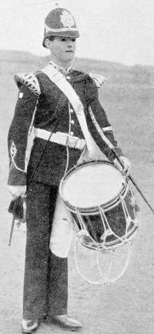 Drummer of the 1st Dorsets in review order.
