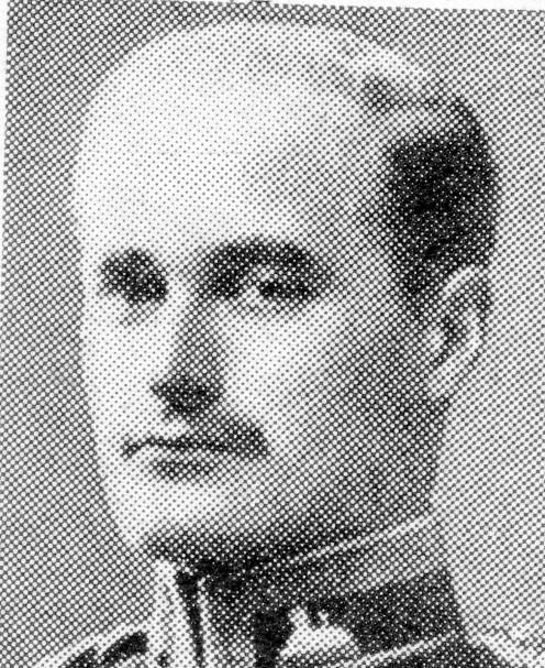 Lieutenant C.G. Butcher.
