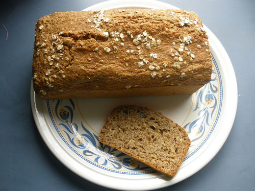 Using wholemeal flour makes soda bread healthier and nicer. See the recipes.