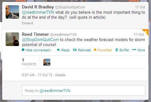 Reed Timmer - Storm Chasers, TVN.net creator and all around dominator
