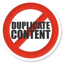 No duplicate content should to be posted on the website where you are Display Google Ads