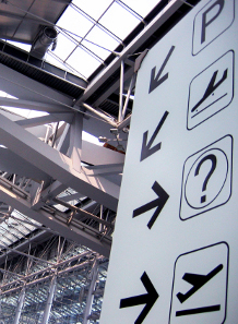 Airport Directional Signage