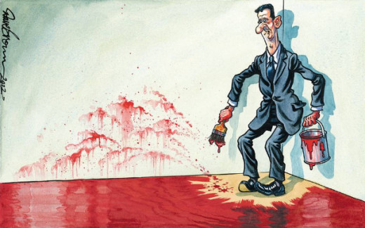 Assad paints himself into a corner