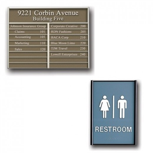 Architectural Signage Systems