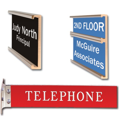 Mounting Options for Engraved Office Signs