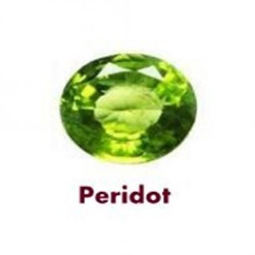 Peridot Gemstone is the Birthstone of August, Substitute Stone of Emerald and Wedding Anniversary Gemstone associated with the 16th year of Marriage.