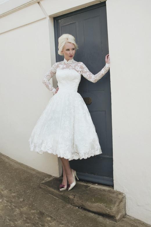 long sleeve 50's dresses