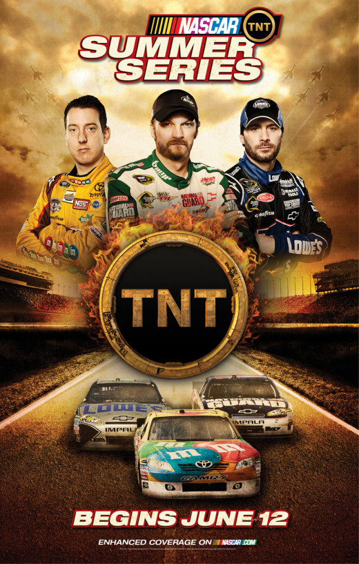 "Billing itself as the ""summer series"" TNT's six race schedule will end next season"