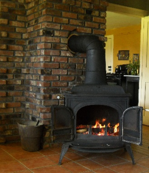 The fire is burning to welcome you to Royalton Bed and Breakfast. Come in and relax by the fire on a cold Vermont day. Nothing beats a fire when the cold winds blow.