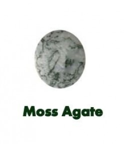 Moss Agate Stone - The Green Gemstone for Abundance and new Beginnings