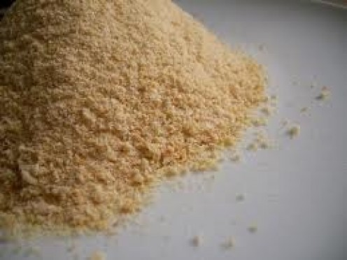 Bread crumbs truly help set this delicious meal into orbit.