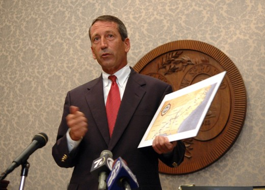Governor Mark Sanford  Office of the Governor  P.O. Box 12267  Columbia, SC 29211  Fax: 803-734-5167     You may also contact the Governor's Office at 803-734-2100. Scheduling requests should be made in writing to the above address or fax number.