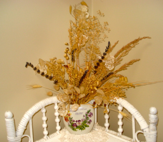 Dried Grasses Arrangement