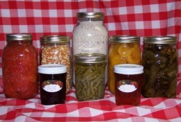 Home Canning can be fun as well as healthy. Supplies can be purchased from any large department store such as Walmart or Target.