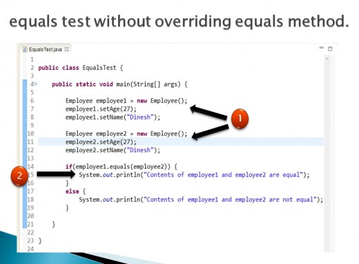 How to Compare Two Objects with the equals Method in Java