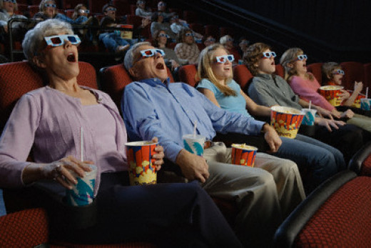 3D Movies have been around for years.