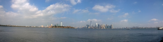 View towards NYC