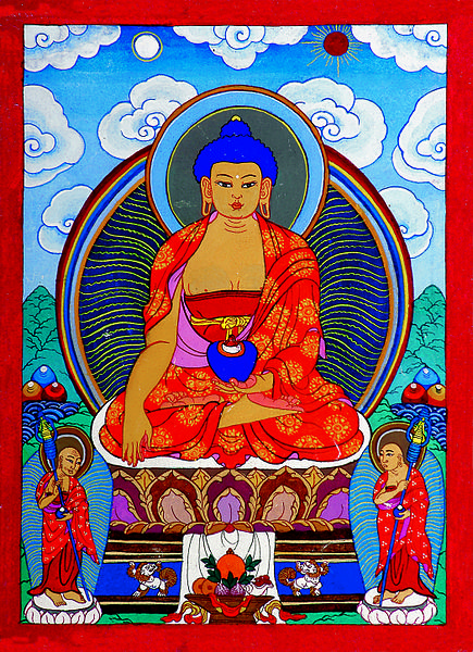 Painting of the Buddha