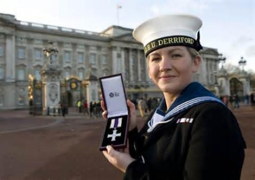 Kate at the Palace.