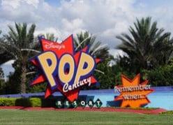 Disney's pop century resort, fun facts and travel tips