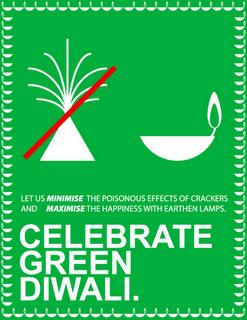 "It's time to celebrate a ""Green Diwali"""