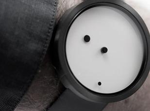 Eccentric personalities will love this Nava Time Watch Ora Lattea.