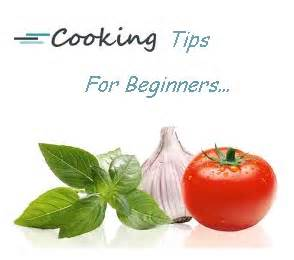 Simple cooking tips.