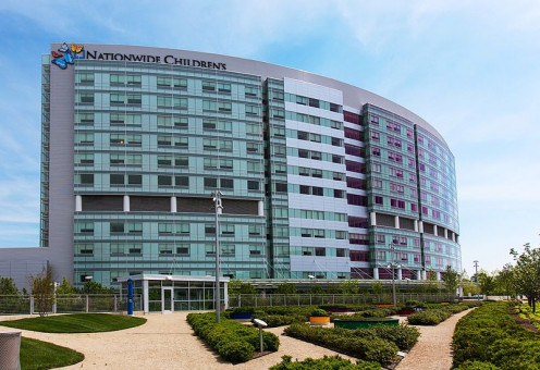 This hospital is near a large Ronald McDonald House that houses 71 families of ill children.