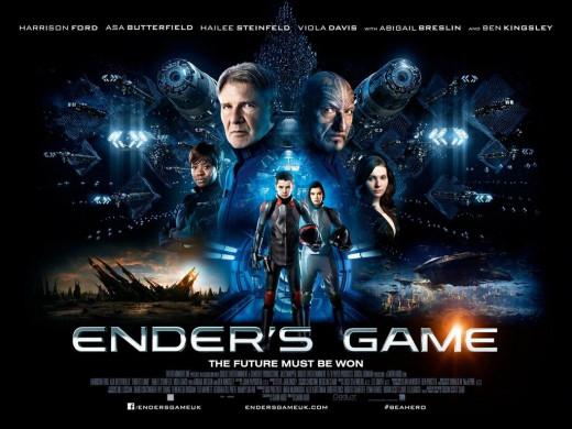 Ender's Game (2013) poster