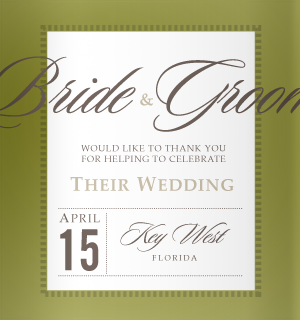 Gorgeous dark olive green wedding decoration ideas and more.