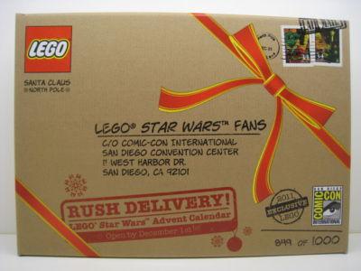 Lego Star Wars Advent Calendar #COMCON015