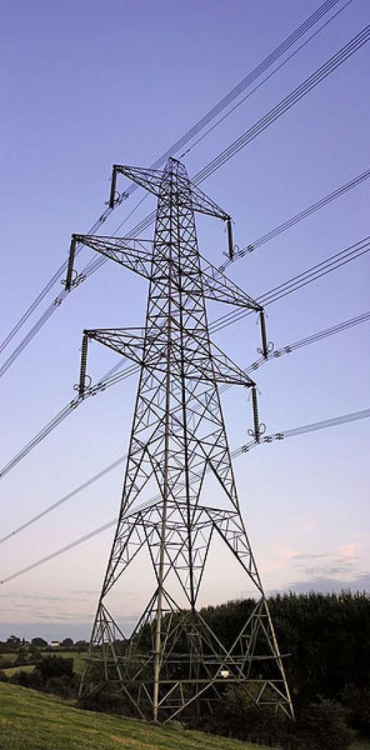 L6 D Electricity Transmission tower