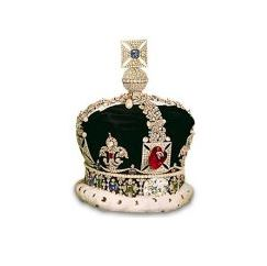 Black Prince's Ruby on the Imperial State Crown