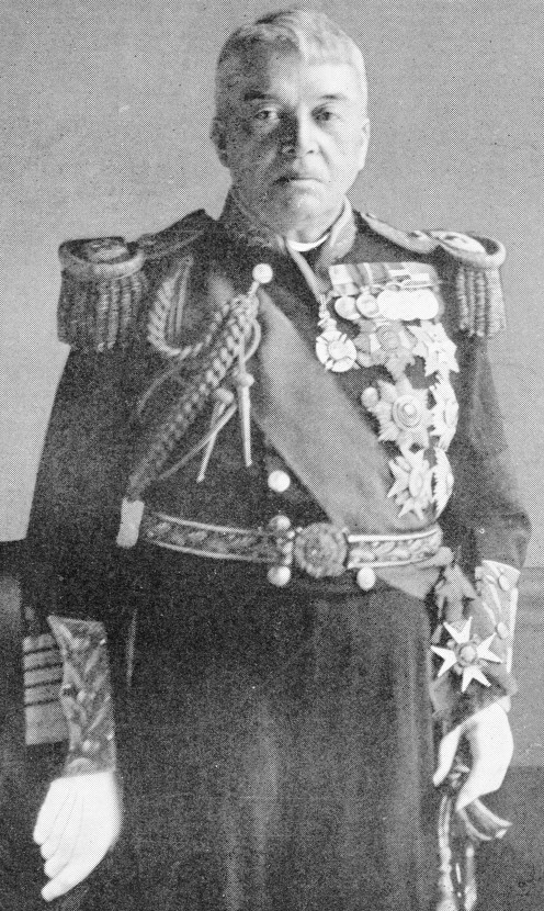 Admiral Lord Fisher, G.C.B., G.C.V.O., O.M. First Sea Lord of the British Admiralty.