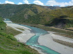 Wide river beds & Aquamarine waters