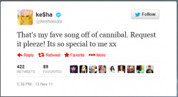 Ke$ha asked fans to petition her label for the release of The Harold Song
