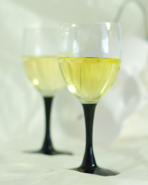White wine turns golden if it is aged properly.