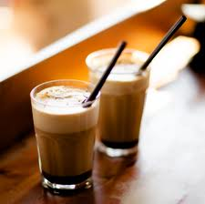 Iced coffee for the summer mornings