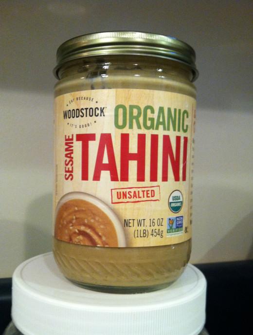 Tahini butter or paste has a rich, earthy taste.