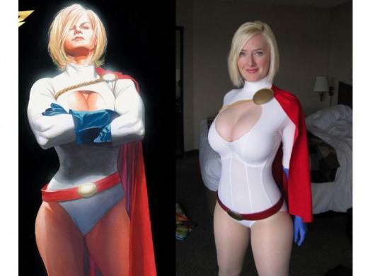 Power Girl Costume